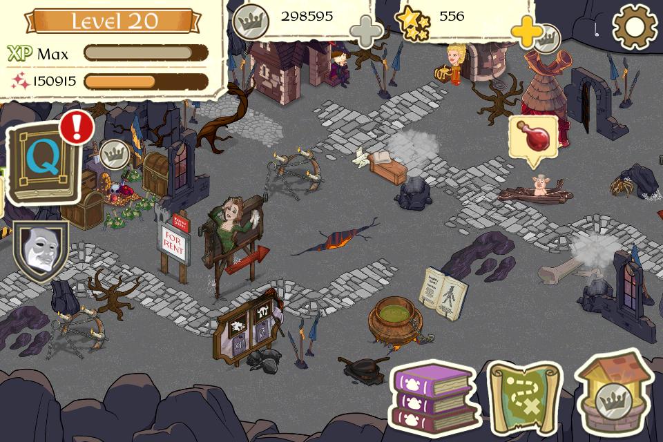 Screenshot Shrek's Fairytale Kingdom